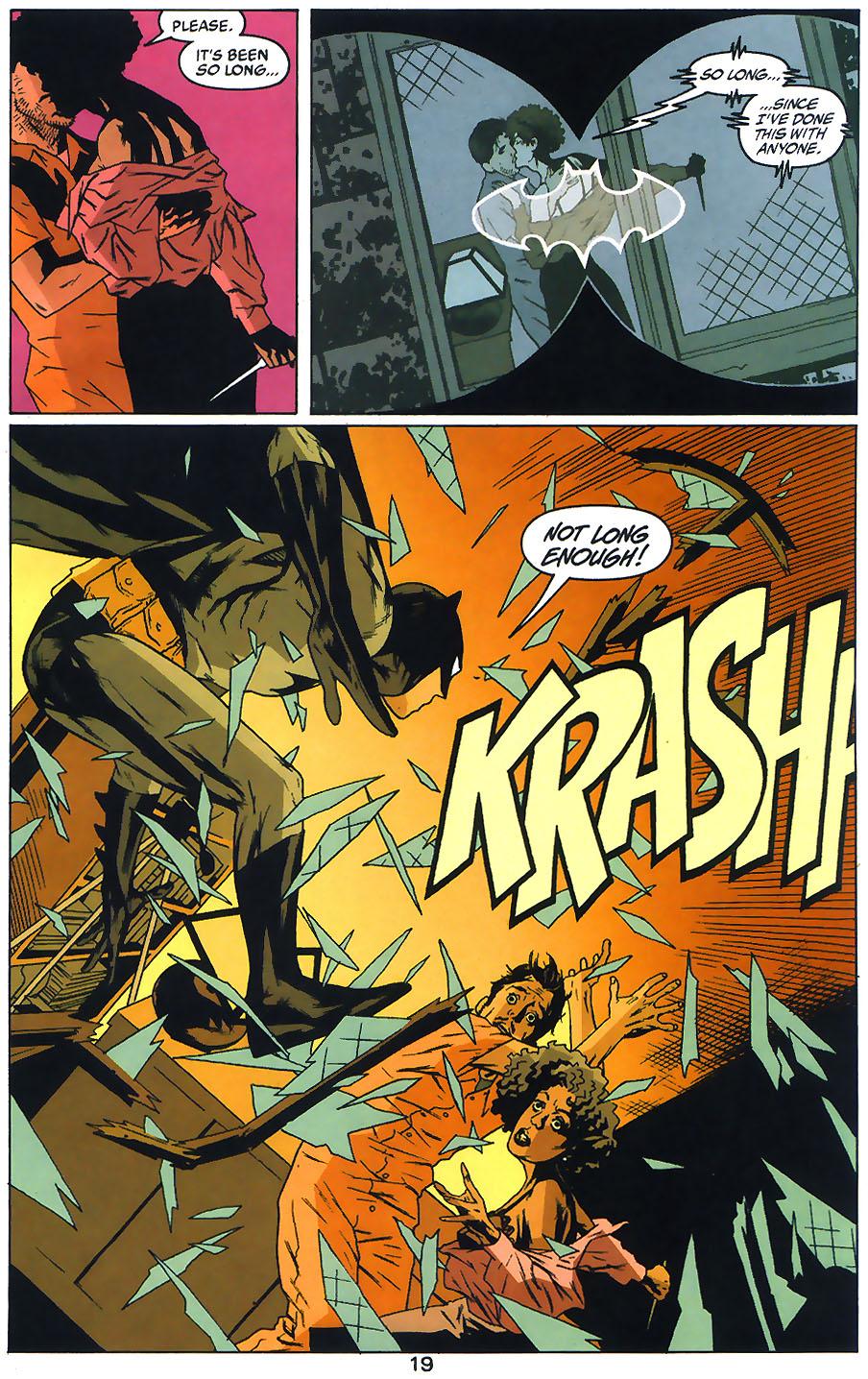 Read online Arkham Asylum: Living Hell comic -  Issue #1 - 21