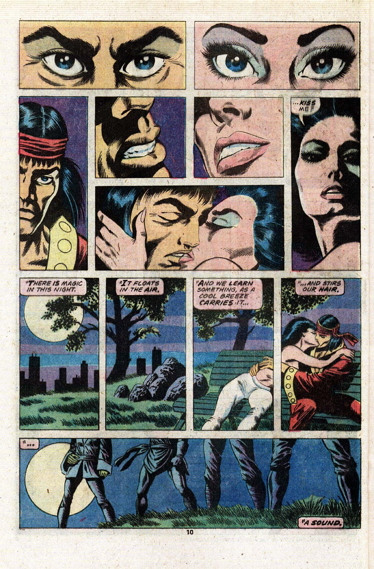 Read online Giant-Size Master of Kung Fu comic -  Issue #2 - 9