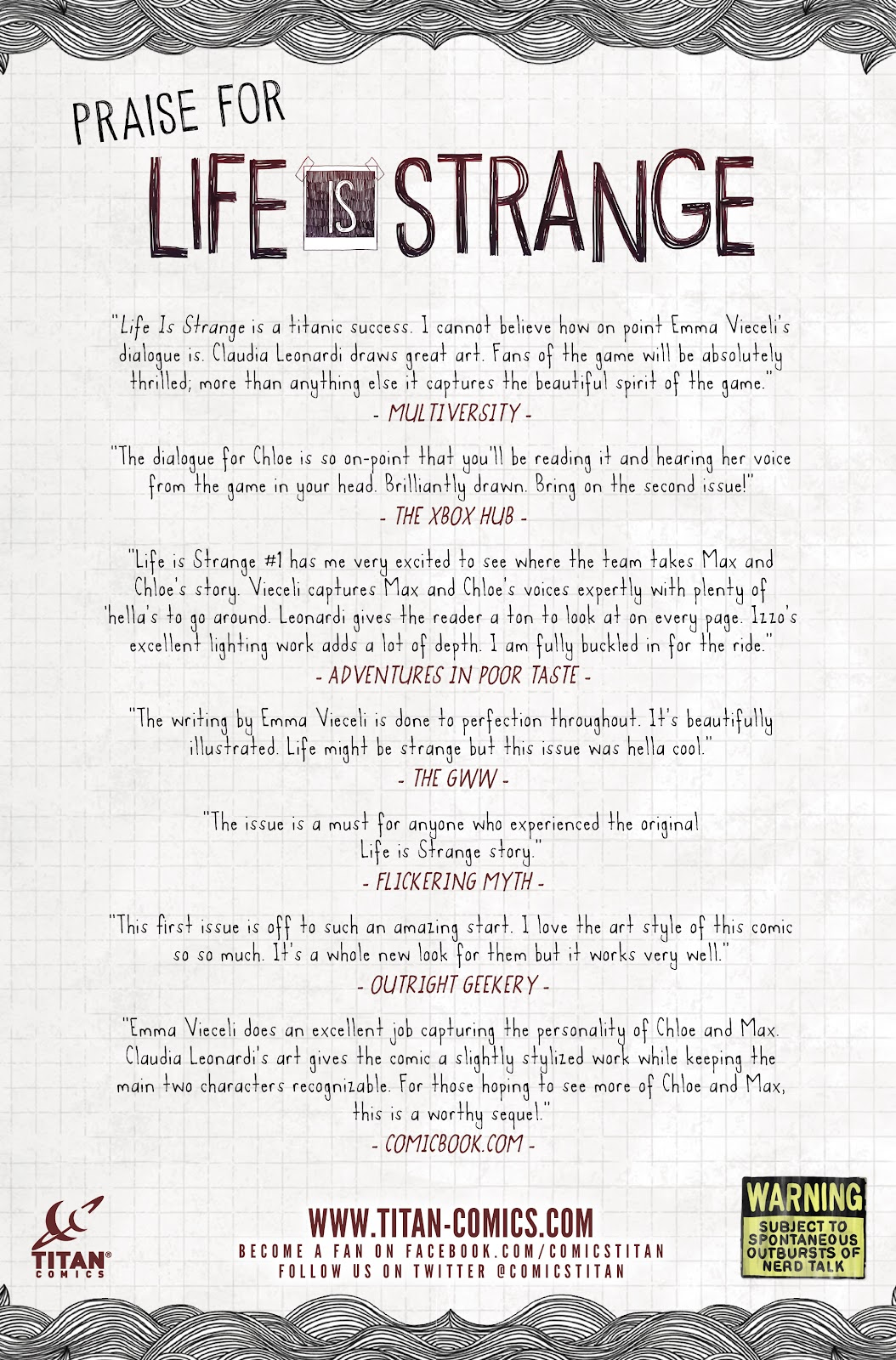 Read online Life is Strange comic -  Issue #10 - 31
