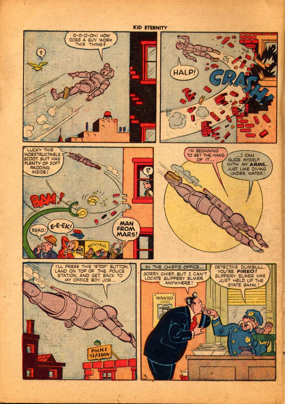 Comic Kid Eternity (1946) issue 6