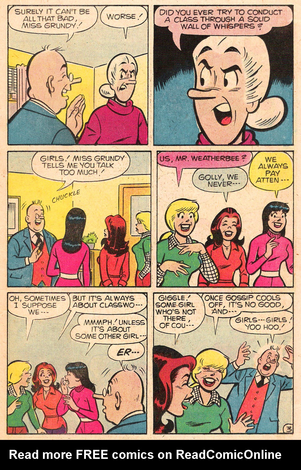 Read online Archie's Girls Betty and Veronica comic -  Issue #276 - 15