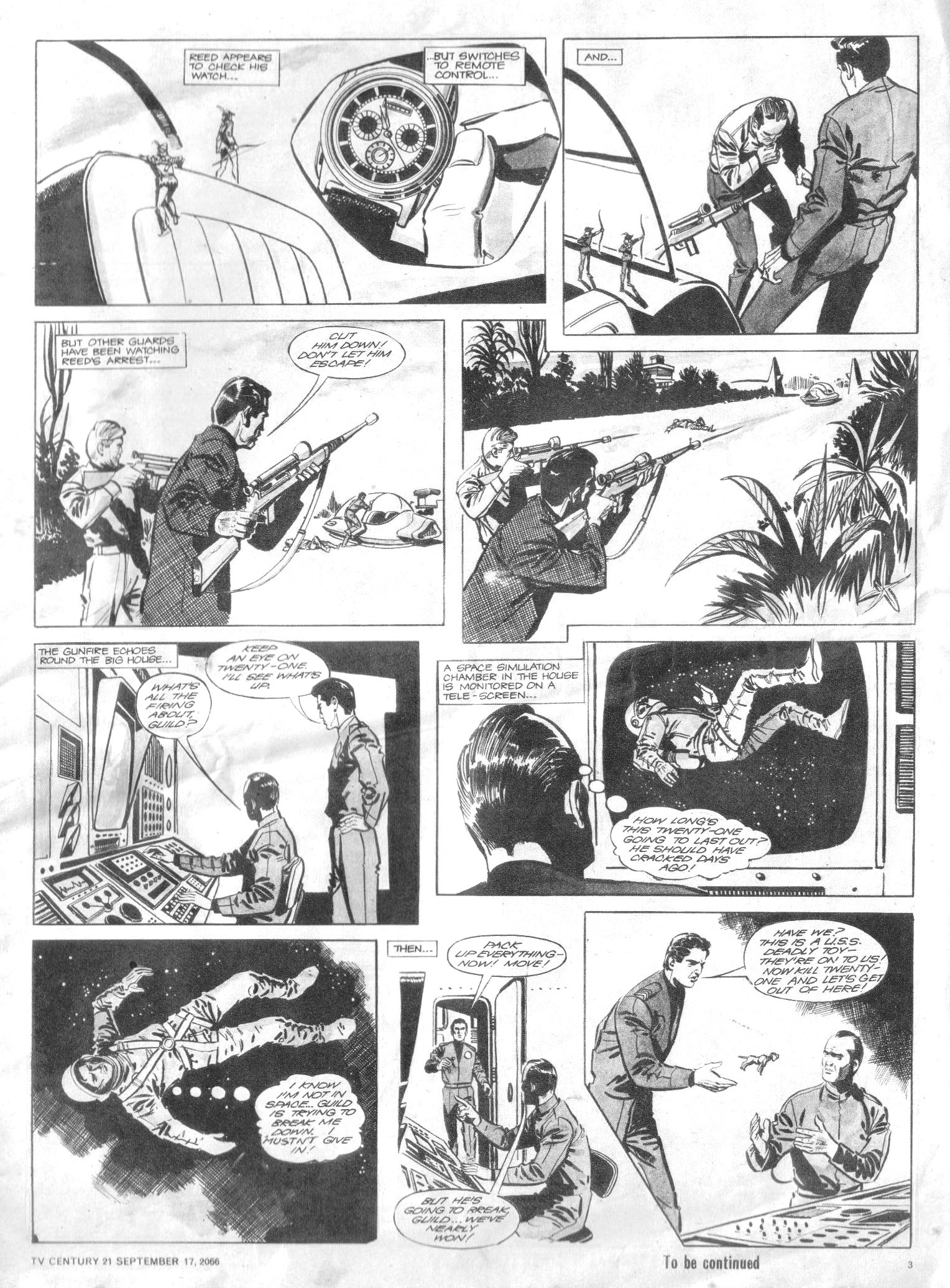 Read online TV Century 21 (TV 21) comic -  Issue #87 - 3