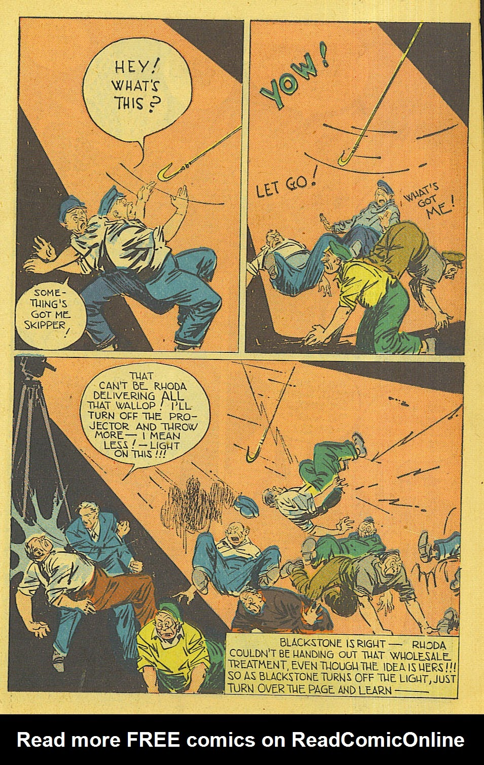 Read online Super-Magician Comics comic -  Issue #42 - 14