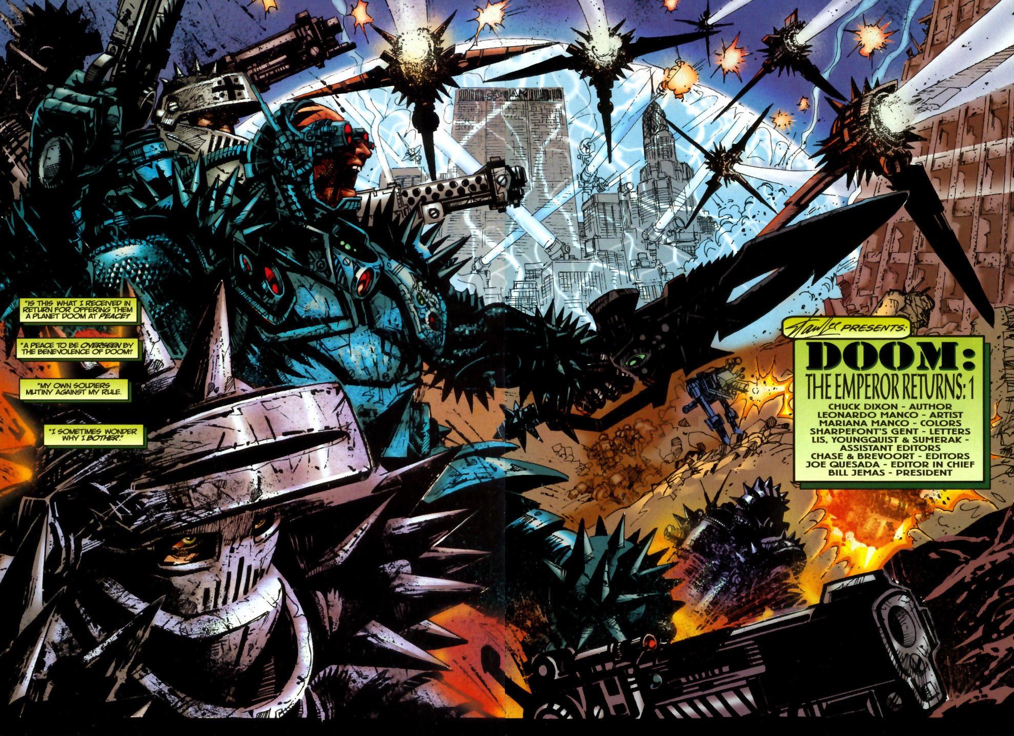 Read online Doom: The Emperor Returns comic -  Issue #2 - 3