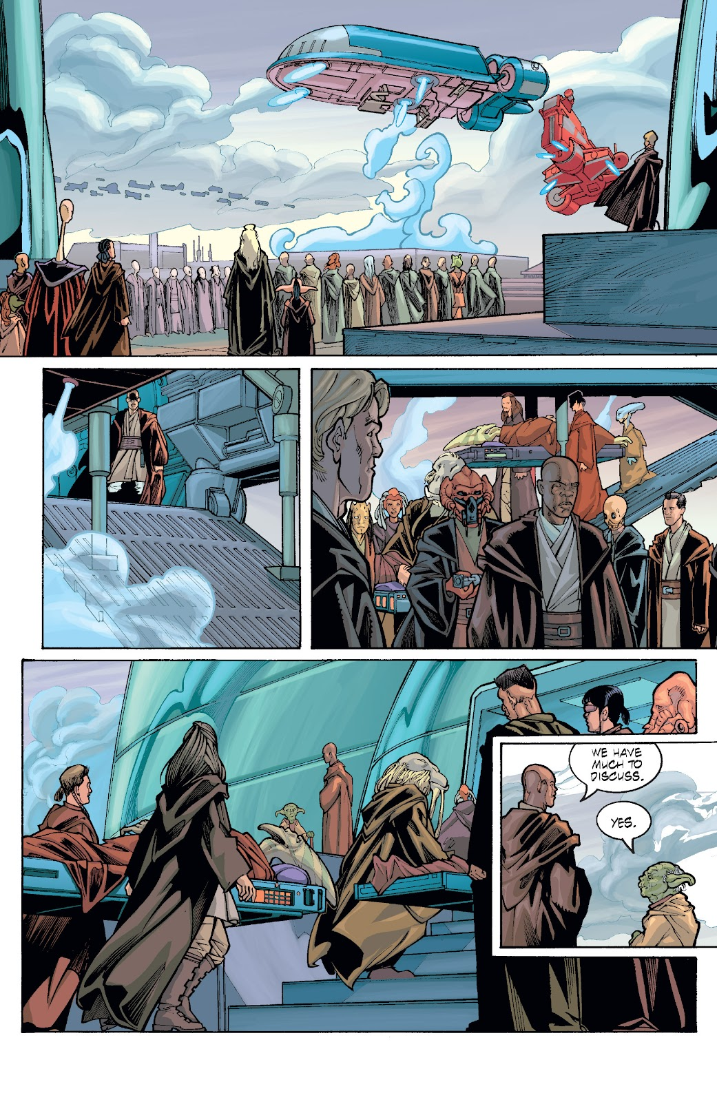 Read online Star Wars Legends: Rise of the Sith - Epic Collection comic -  Issue # TPB 1 (Part 5) - 56