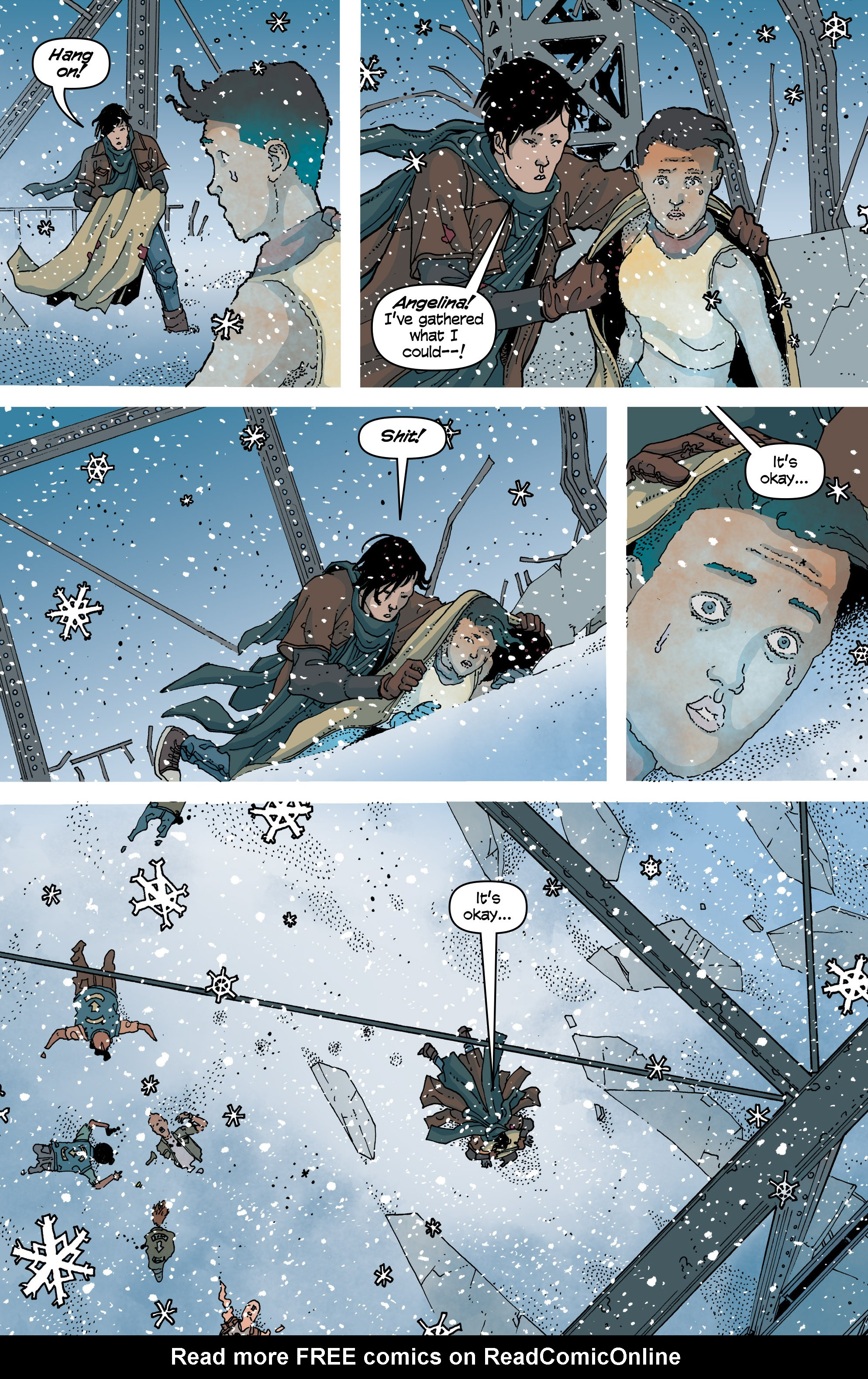 Read online Snowfall comic -  Issue #6 - 9