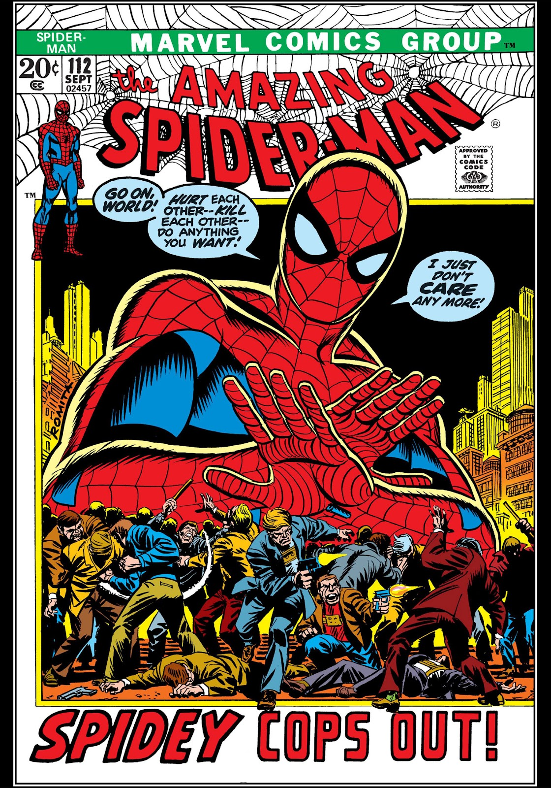 The Amazing Spider-Man (1963) 112 Page 1