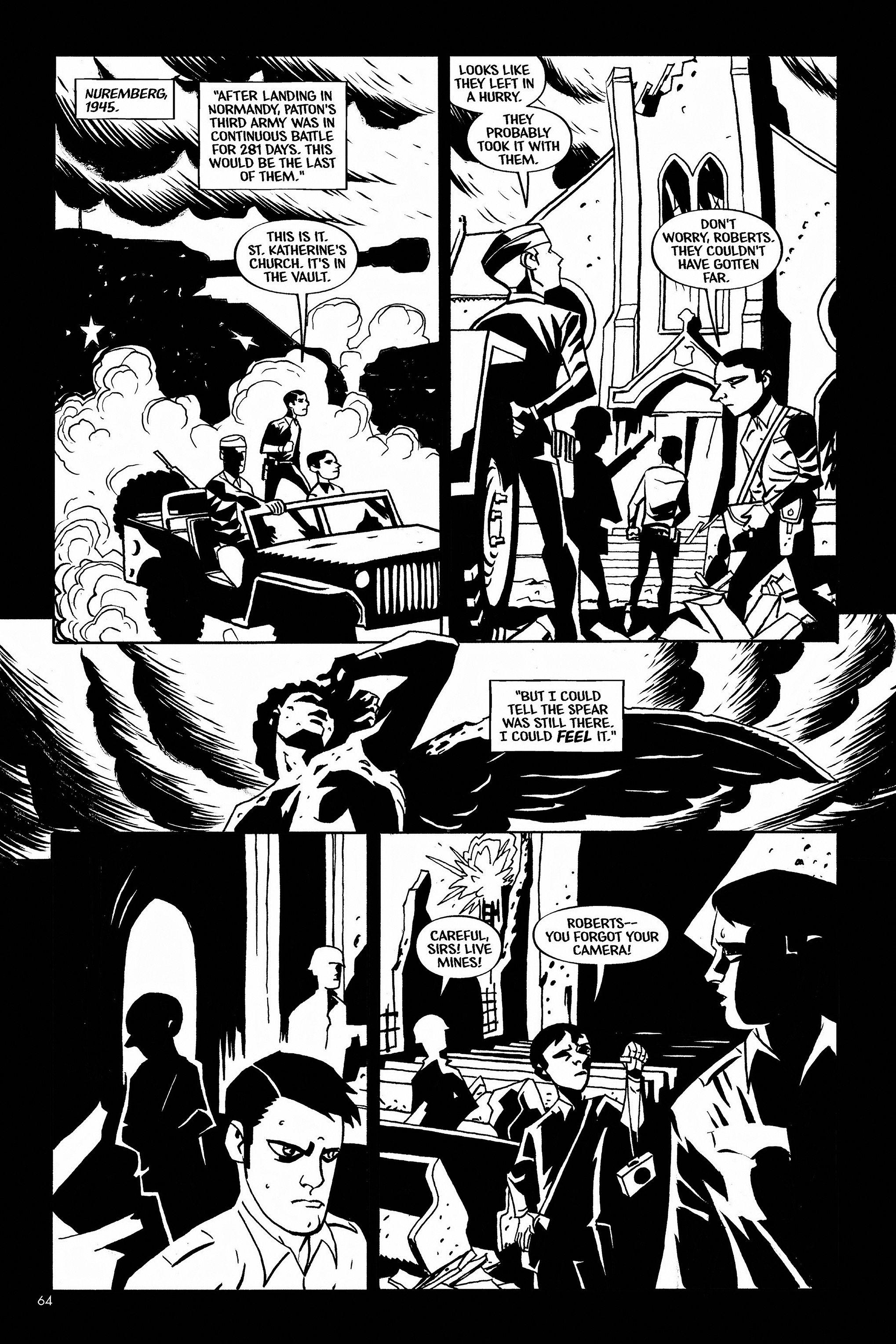 Read online Aleister & Adolf comic -  Issue # TPB - 62
