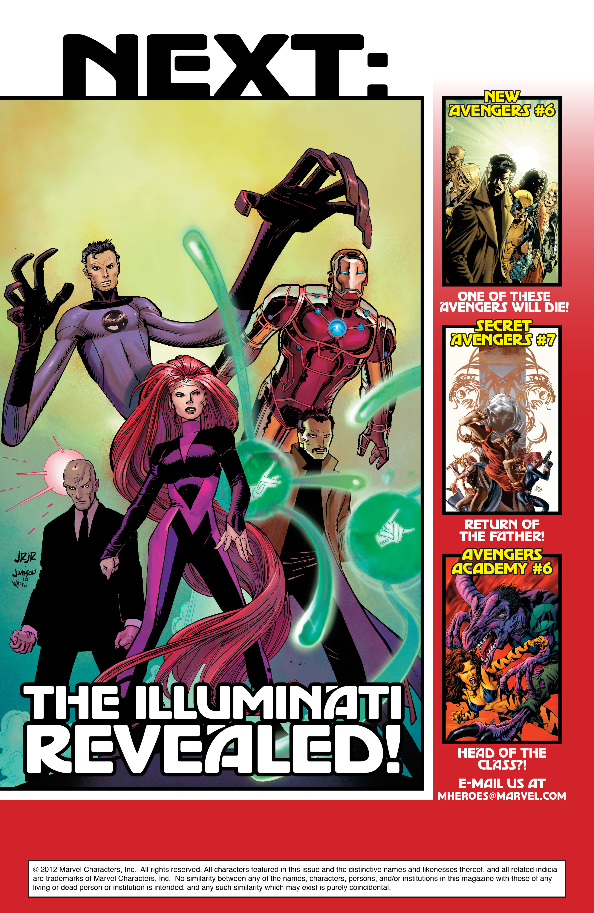 Read online Avengers (2010) comic -  Issue #7 - 24
