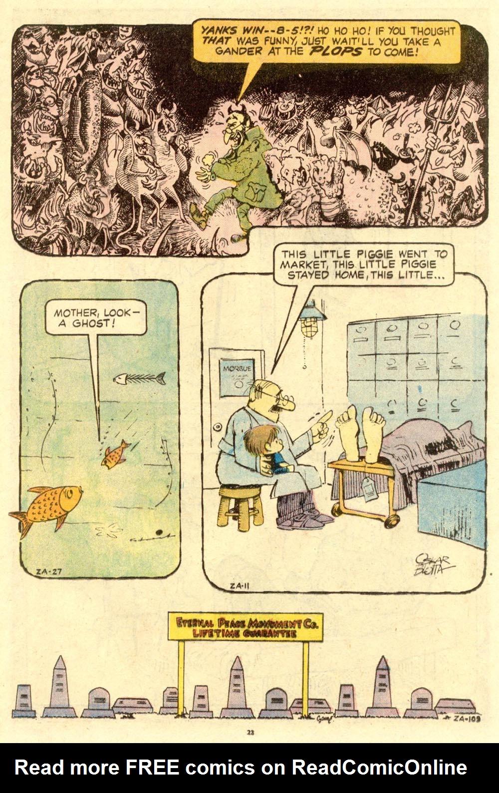 Read online Plop! comic -  Issue #1 - 25