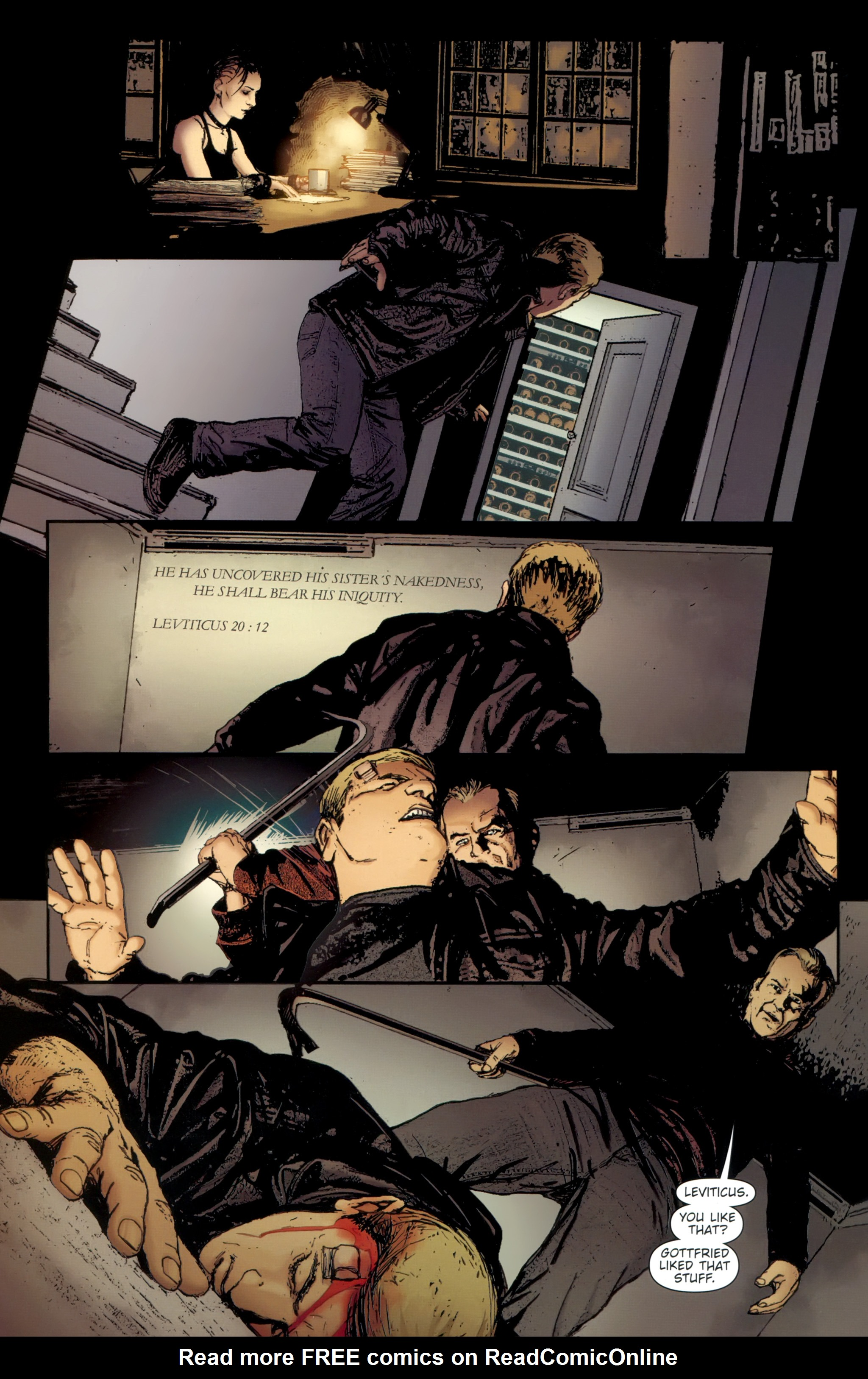 Read online The Girl With the Dragon Tattoo comic -  Issue # TPB 2 - 82