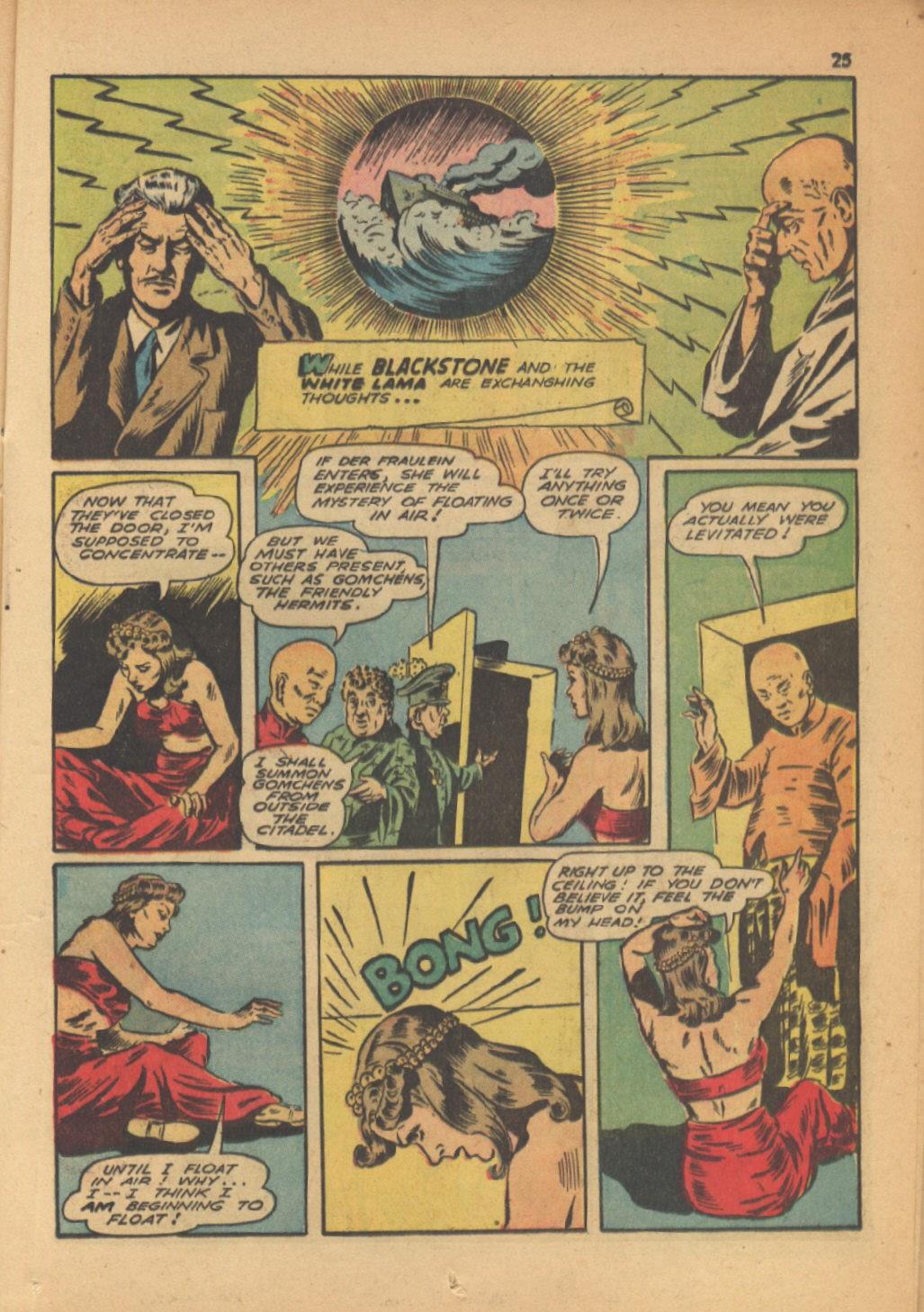Read online Super-Magician Comics comic -  Issue #13 - 25