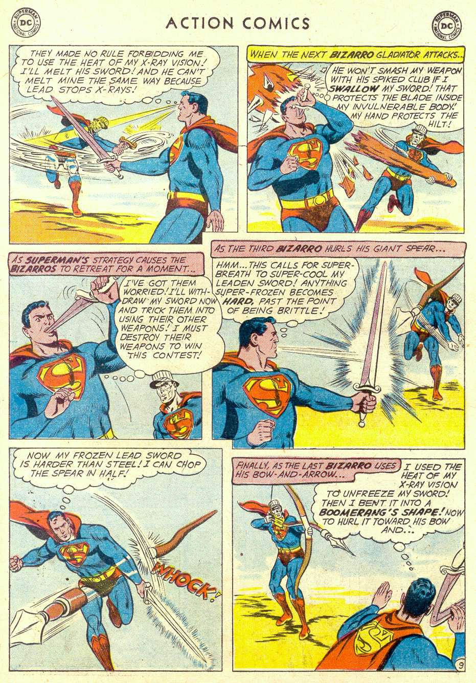 Read online Action Comics (1938) comic -  Issue #264 - 11