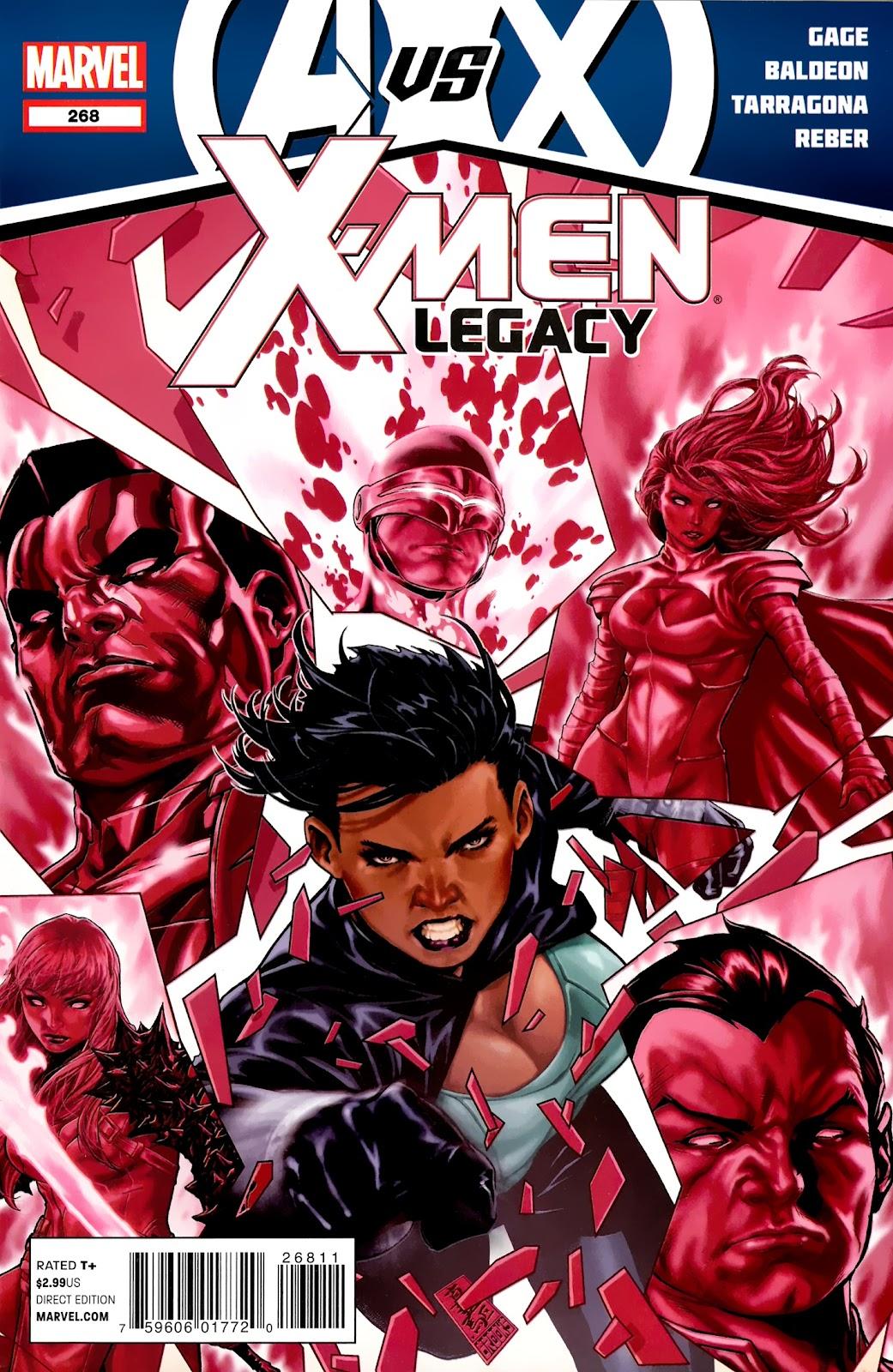 X-Men Legacy (2008) 268 Page 1