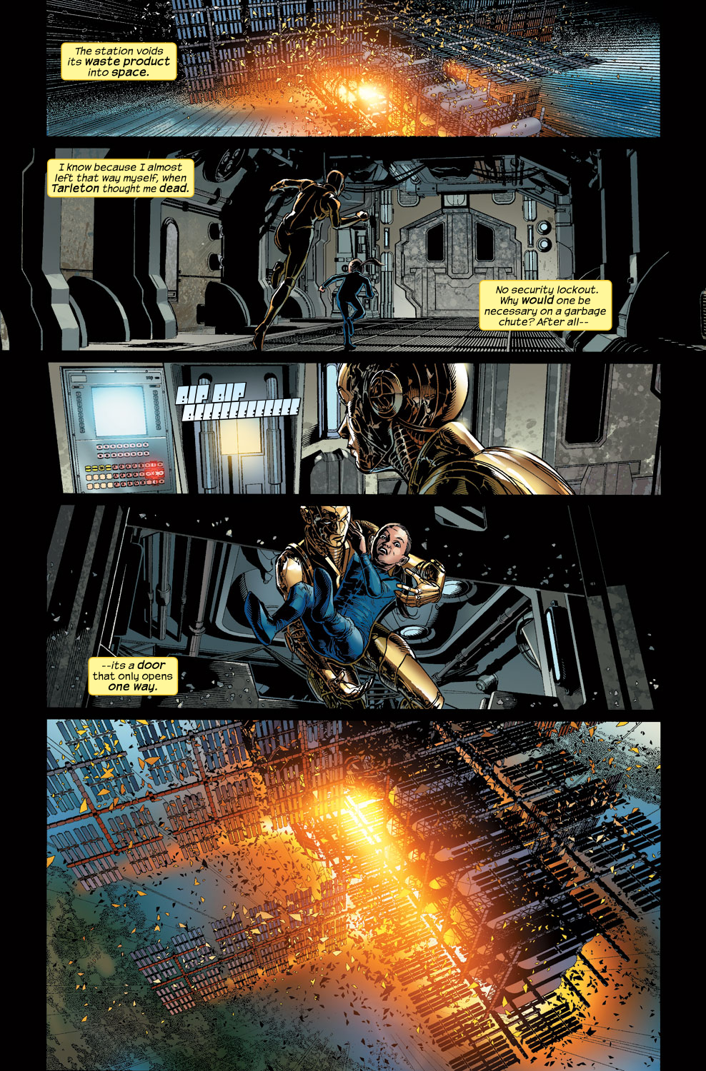Read online Ultimate Vision comic -  Issue #3 - 20