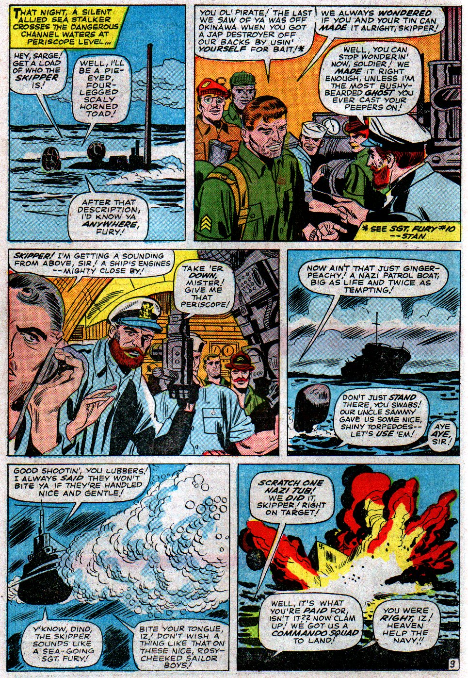 Read online Sgt. Fury comic -  Issue #14 - 14