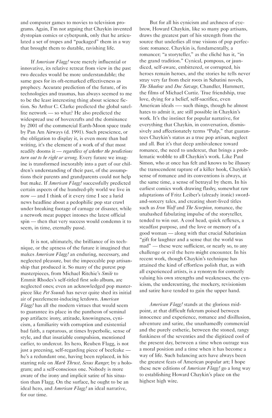 American Flagg! issue Definitive Collection (Part 1) - Page 8