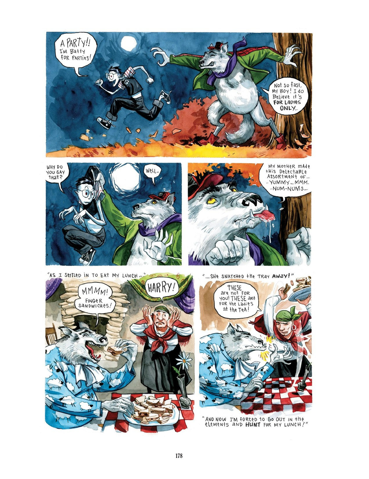 Read online Scary Godmother comic -  Issue # TPB - 178