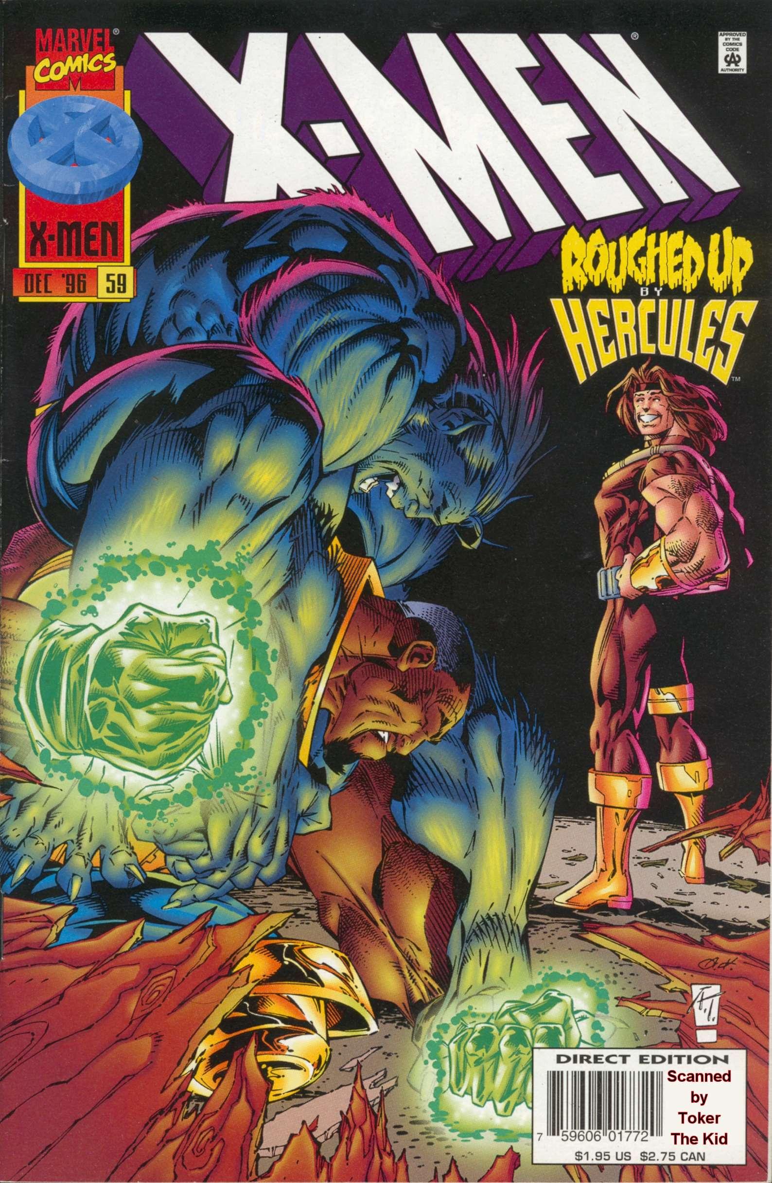 X-Men (1991) 59 Page 0