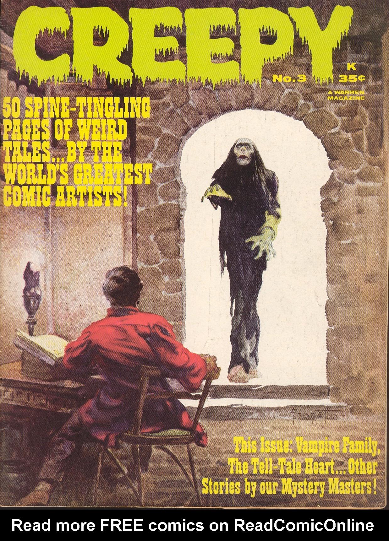 Creepy (1964) 3 Page 1