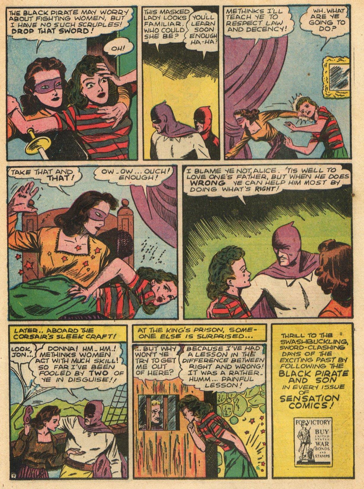 Read online Sensation (Mystery) Comics comic -  Issue #22 - 23