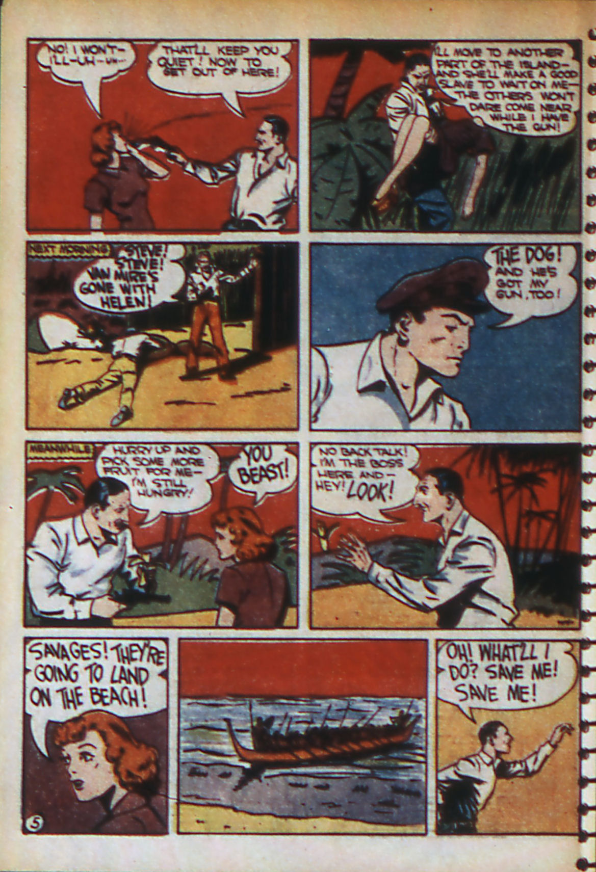 Read online Adventure Comics (1938) comic -  Issue #56 - 53