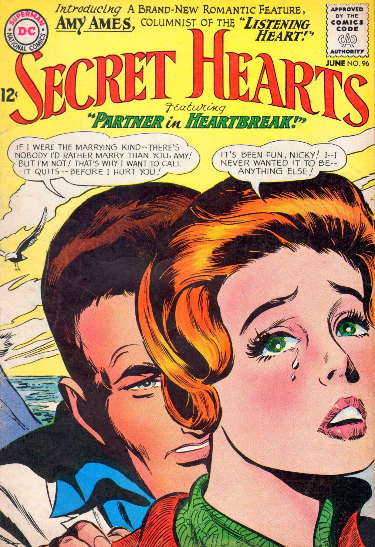 Read online Secret Hearts comic -  Issue #96 - 1