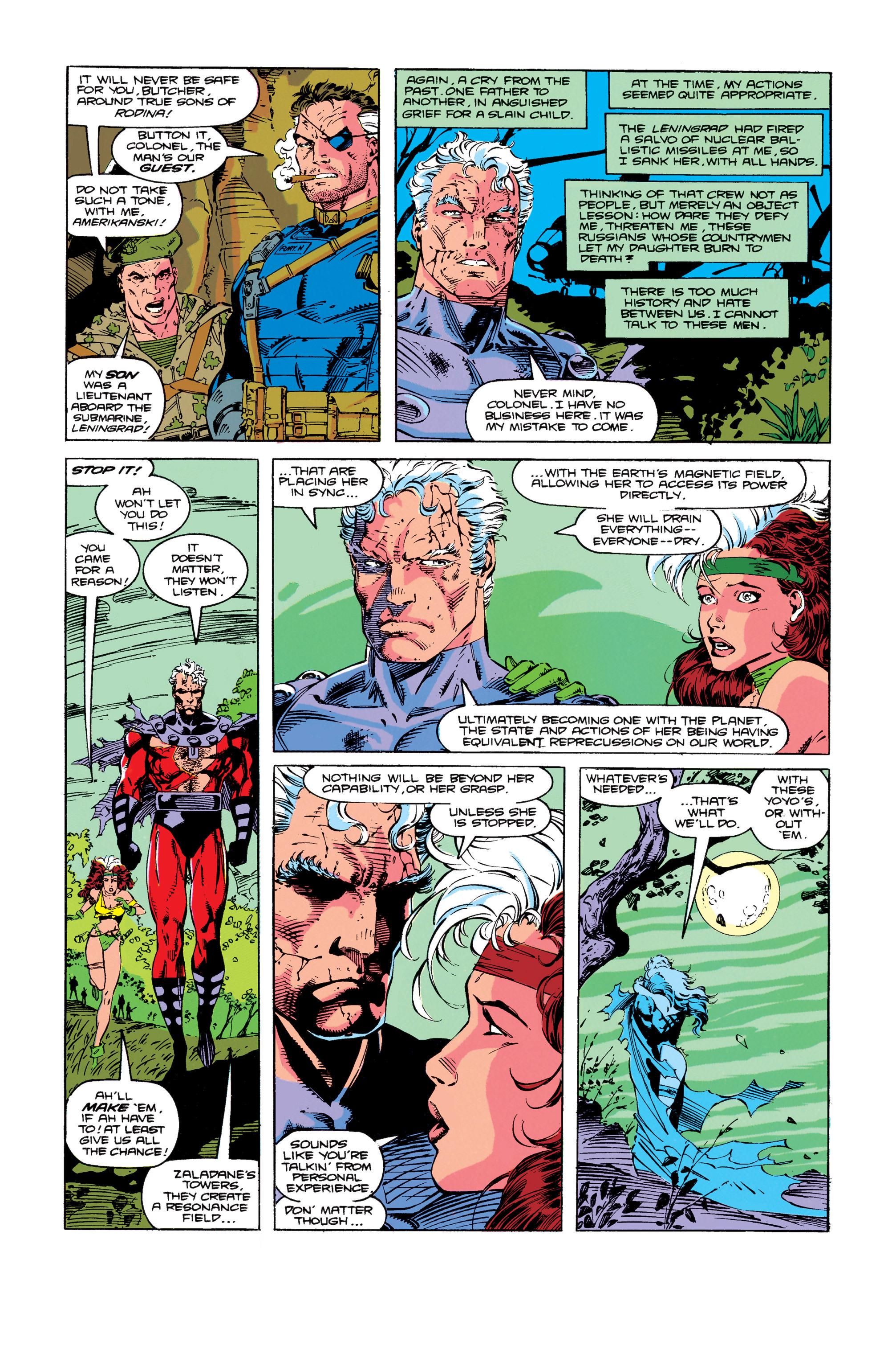 Read online Uncanny X-Men (1963) comic -  Issue #274 - 17