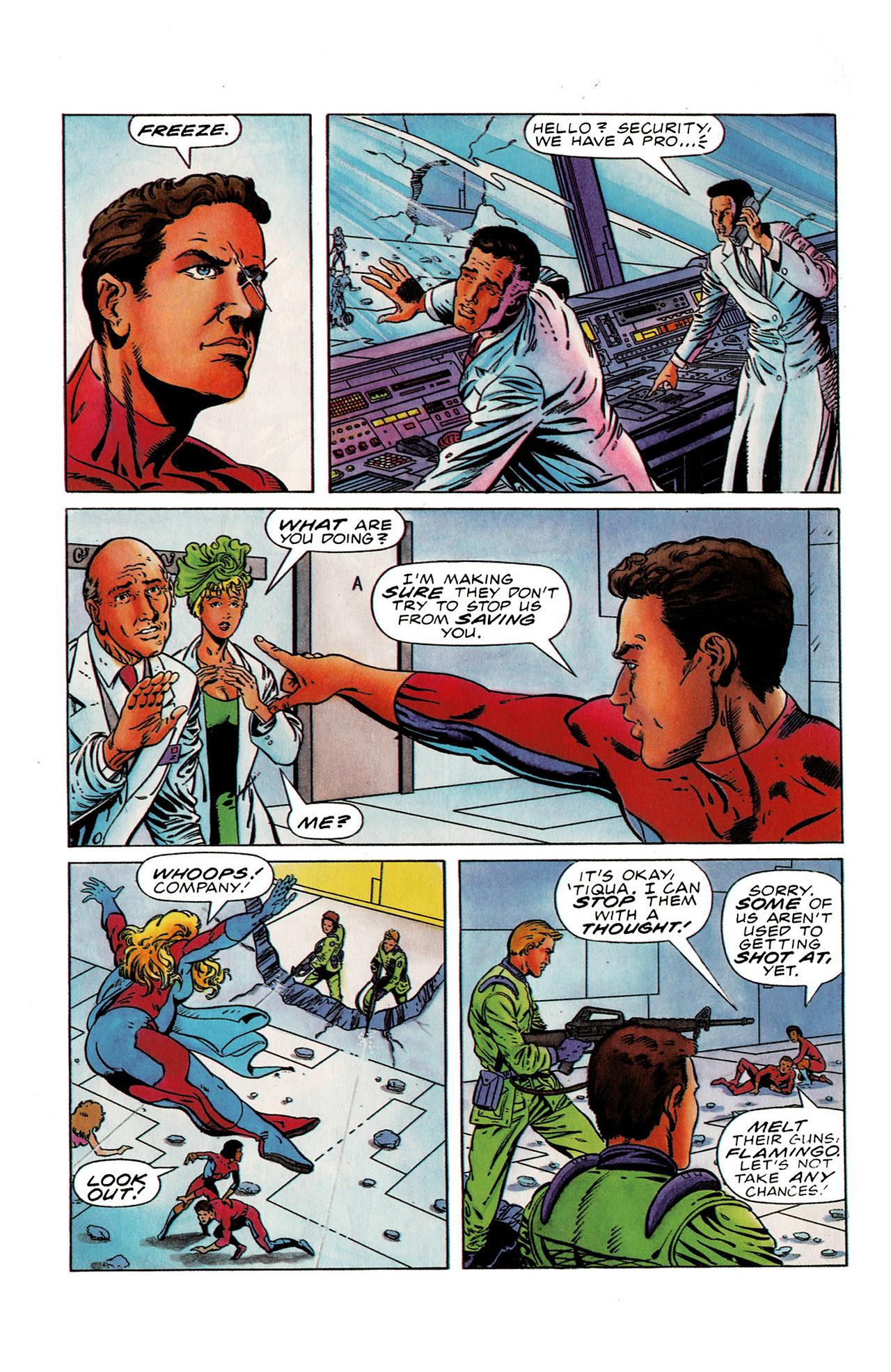 Read online Harbinger (1992) comic -  Issue #19 - 5