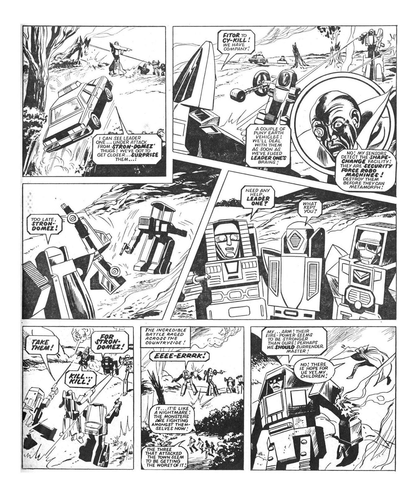 Read online Robo Machines comic -  Issue # TPB - 25