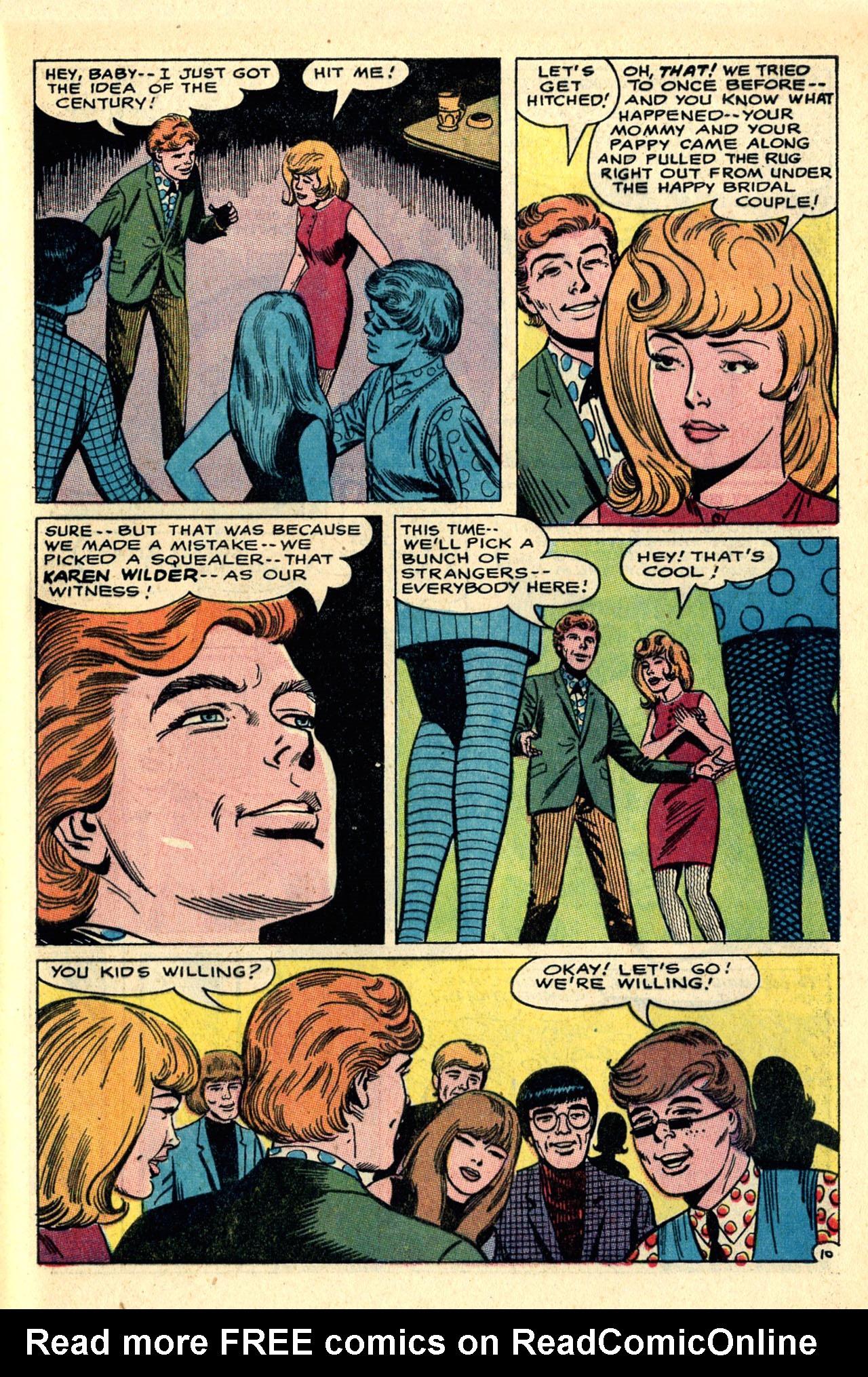 Read online Secret Hearts comic -  Issue #121 - 29