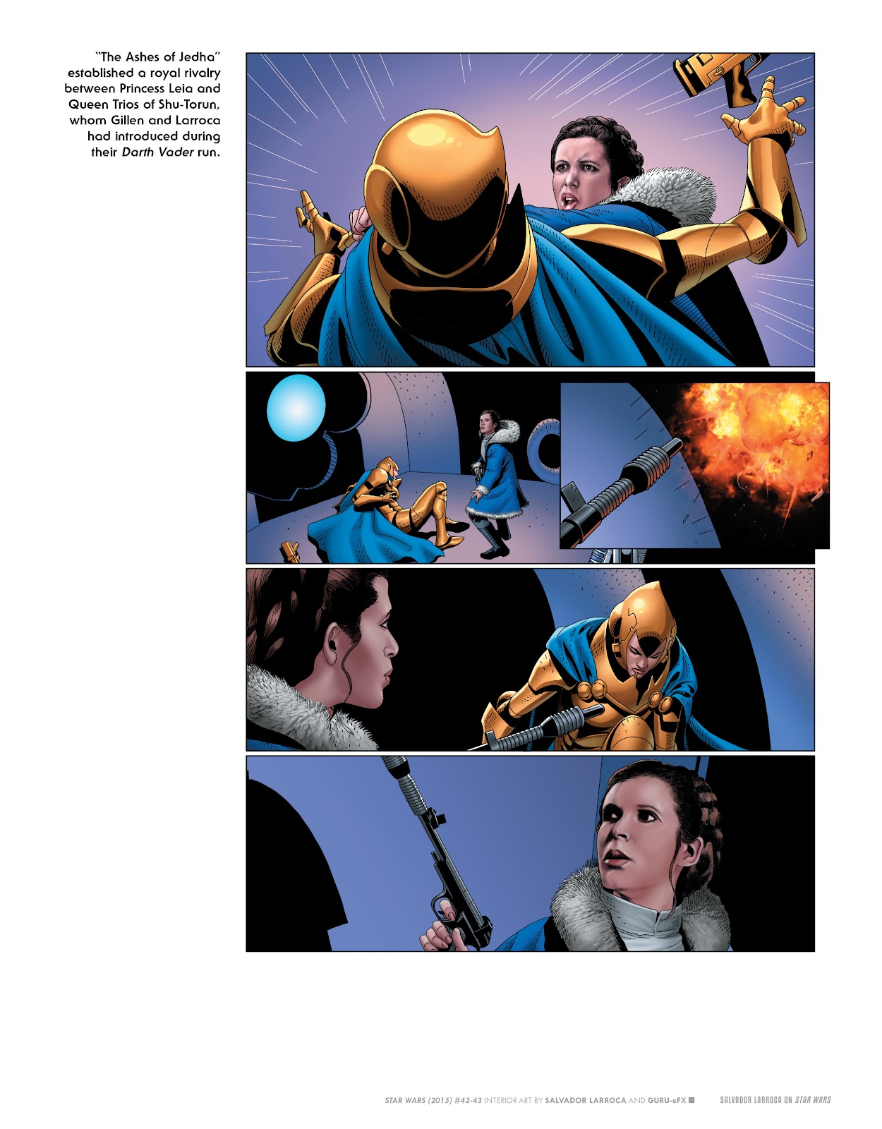 Read online The Marvel Art of Star Wars comic -  Issue # TPB (Part 2) - 21