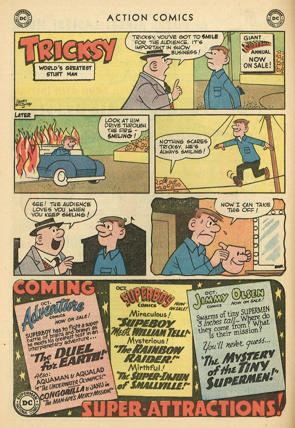 Read online Action Comics (1938) comic -  Issue #269 - 16