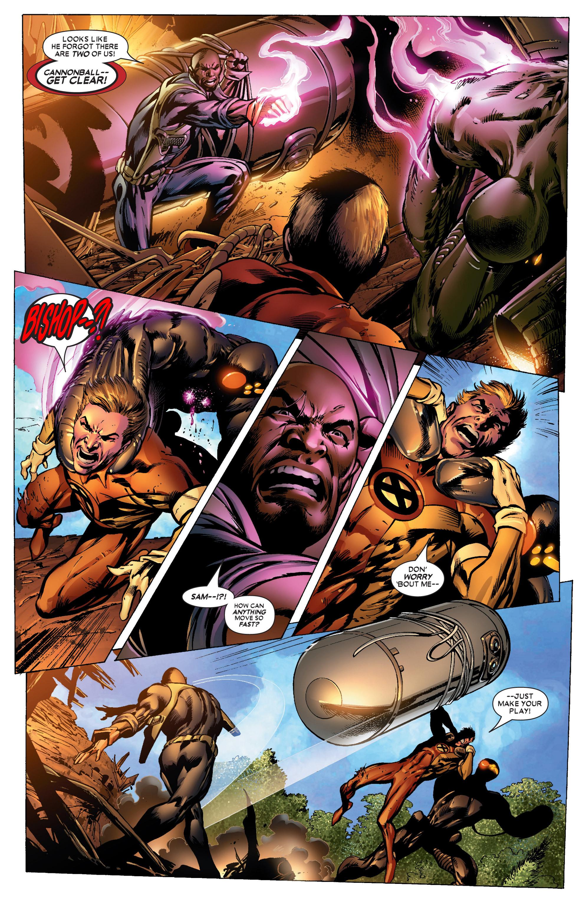 Read online Uncanny X-Men (1963) comic -  Issue #447 - 10