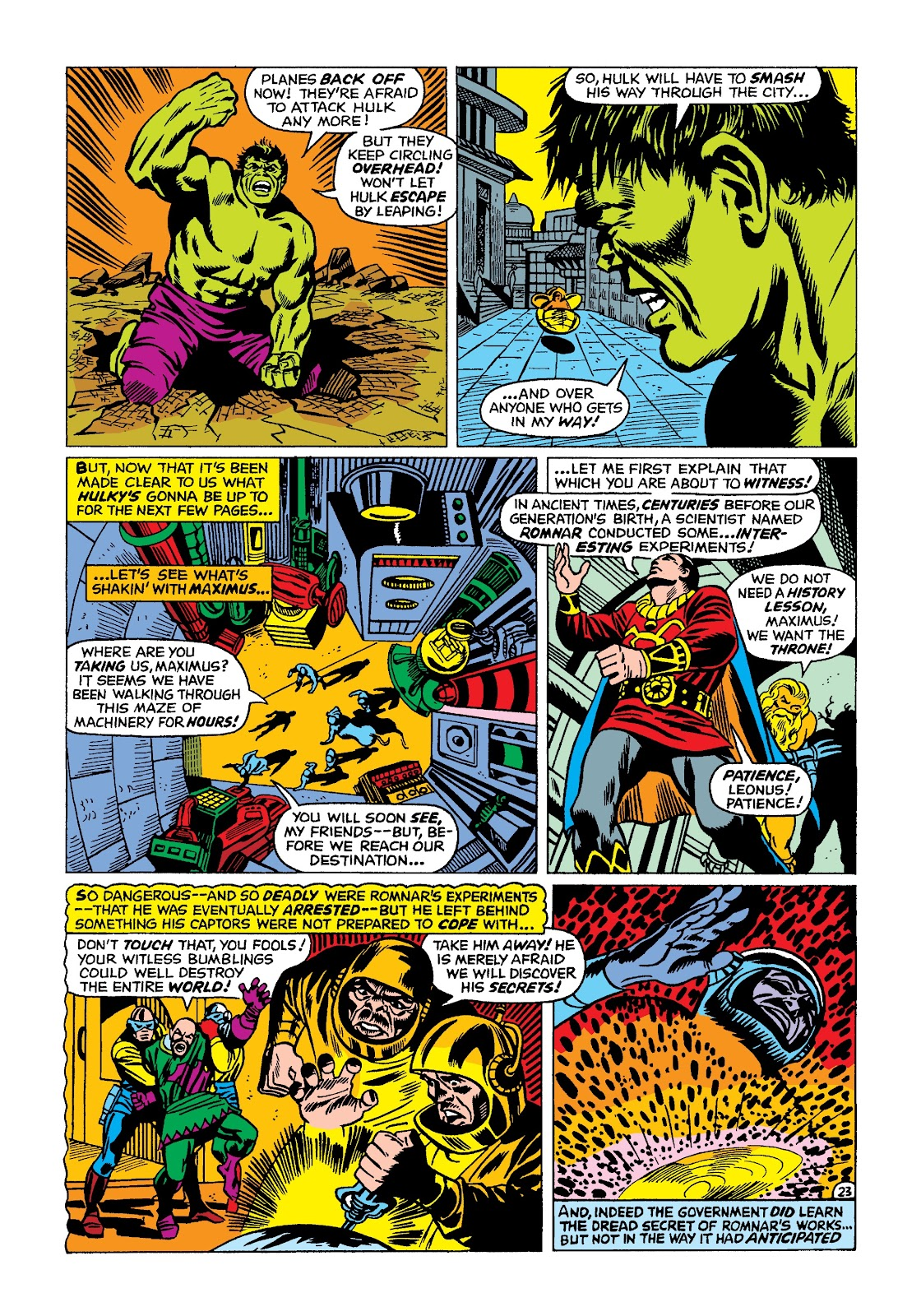 Read online Marvel Masterworks: The Incredible Hulk comic -  Issue # TPB 4 (Part 2) - 56
