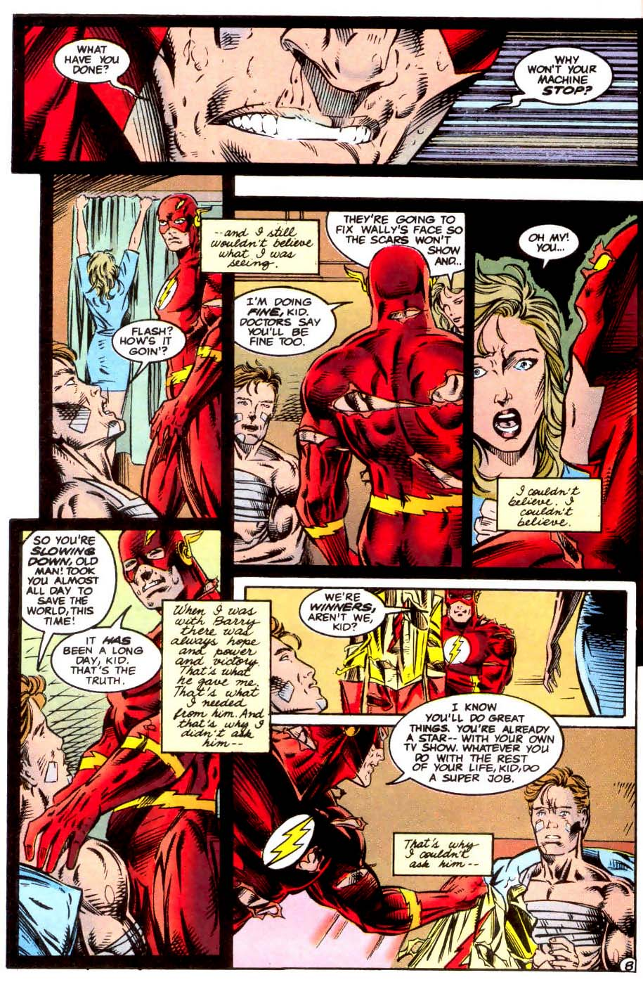Read online The Flash (1987) comic -  Issue # _Annual 7 - 9