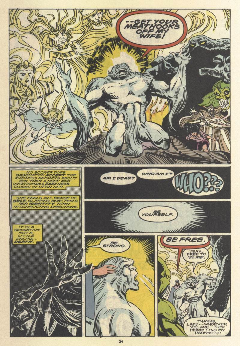 Read online Alpha Flight (1983) comic -  Issue #64 - 24