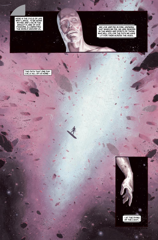 Read online Silver Surfer: Requiem comic -  Issue #1 - 4