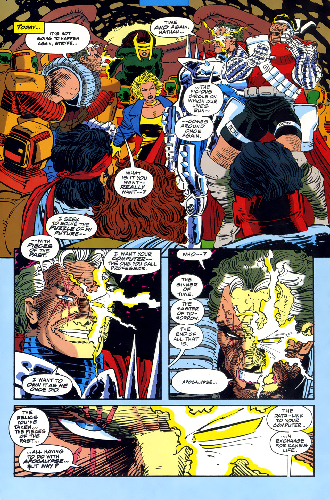 Read online Cable - Blood and Metal comic -  Issue #2 - 38