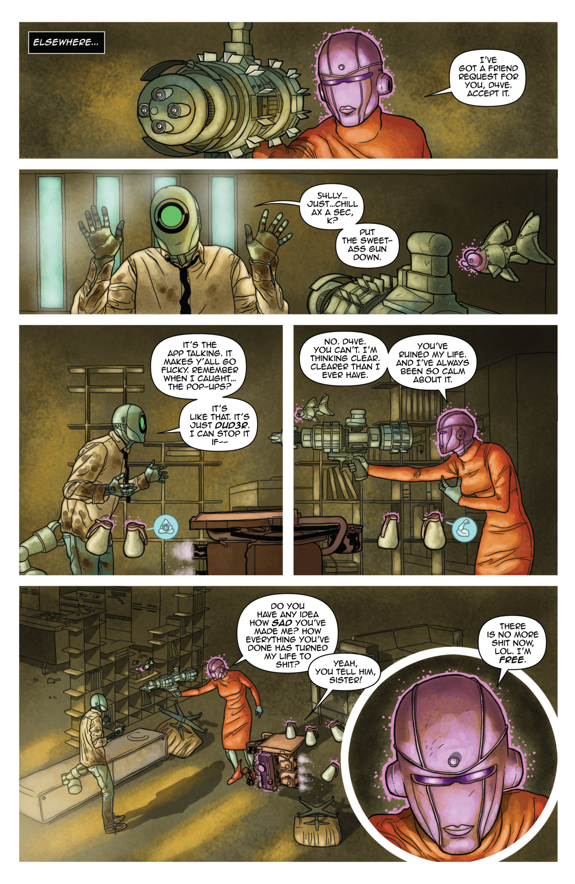 Read online D4VEocracy comic -  Issue #4 - 4