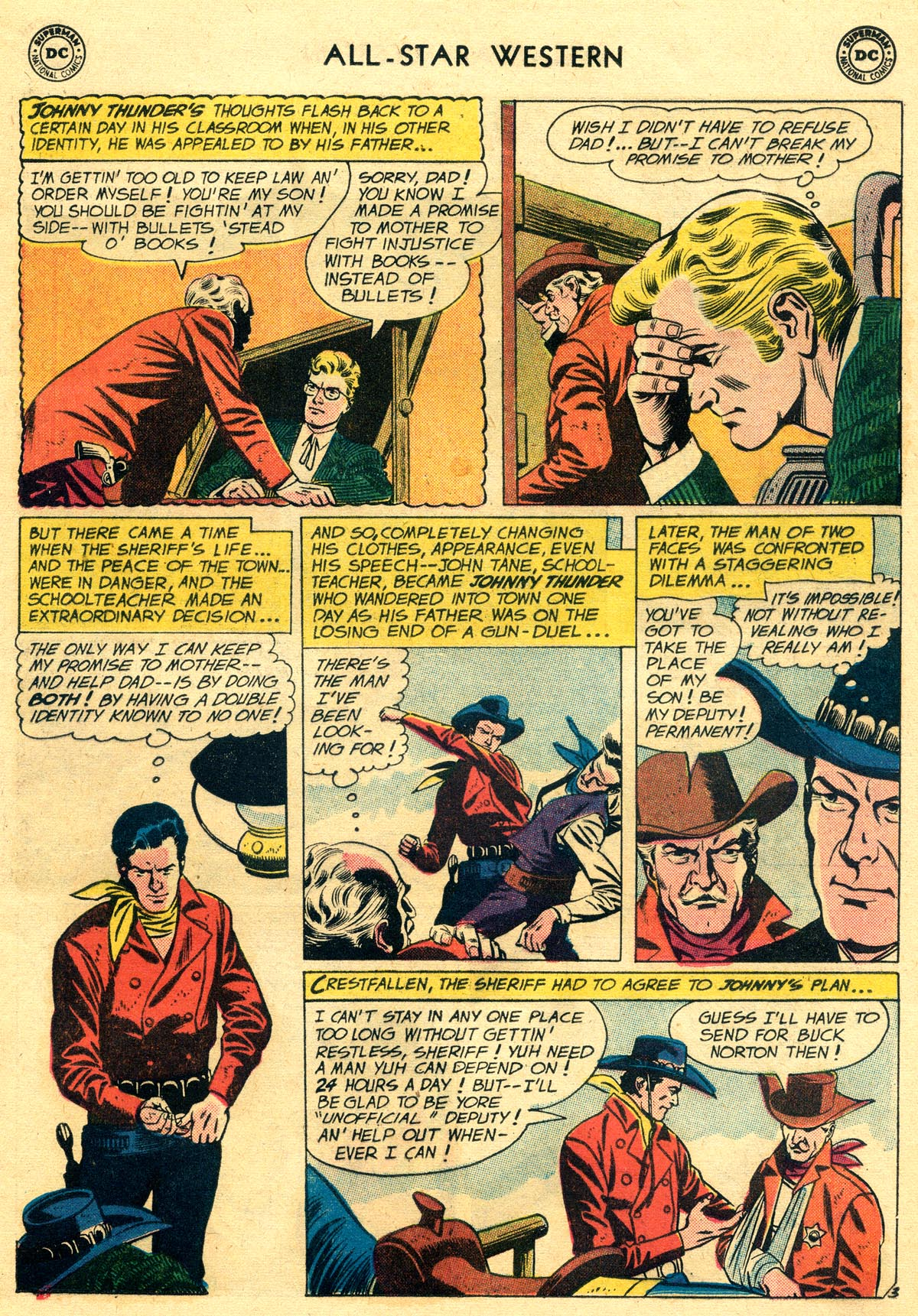 Read online All-Star Western (1951) comic -  Issue #109 - 5