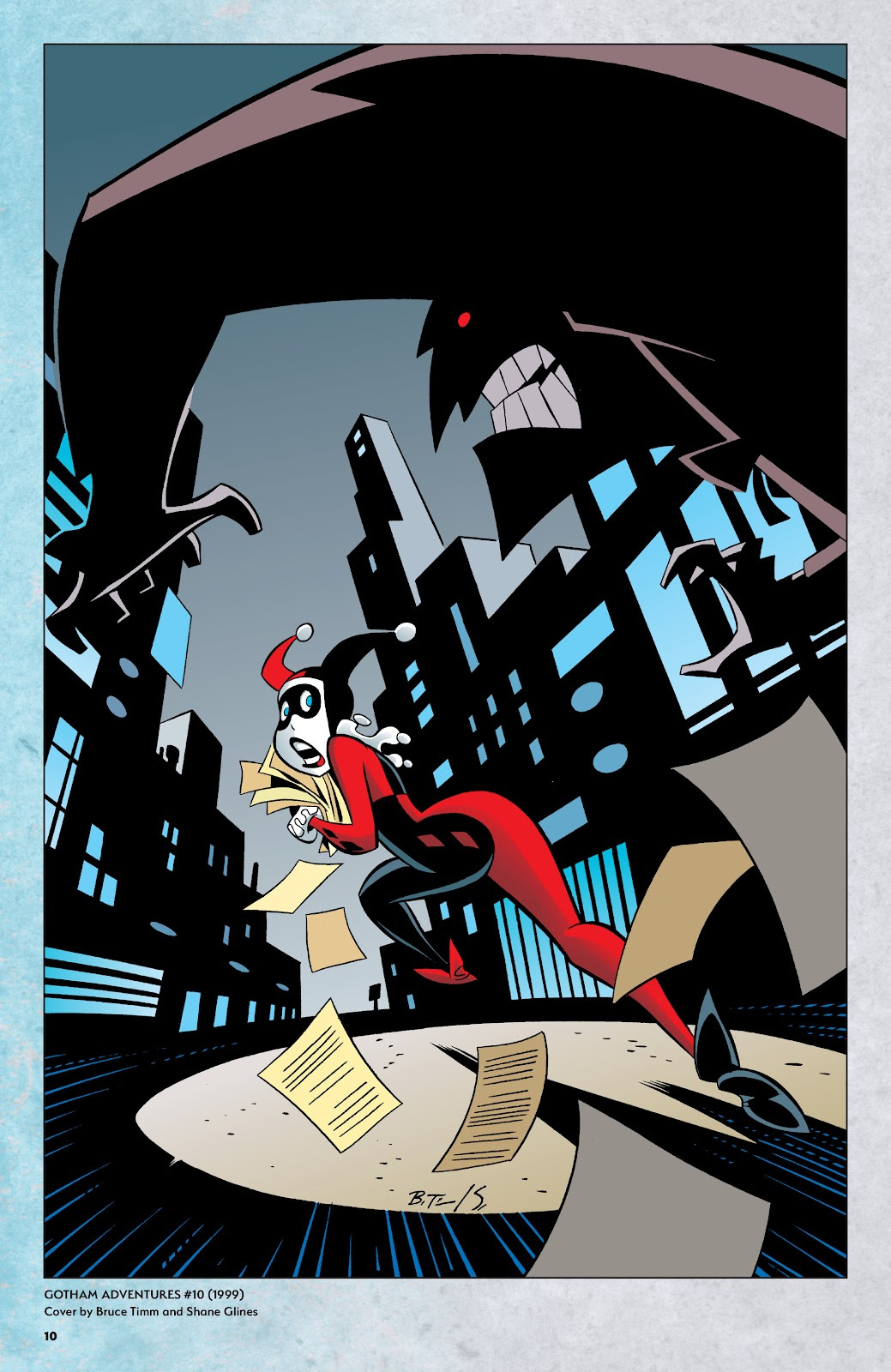 Read online Harley Quinn: A Rogue's Gallery―The Deluxe Cover Art Collection comic -  Issue # TPB (Part 1) - 9