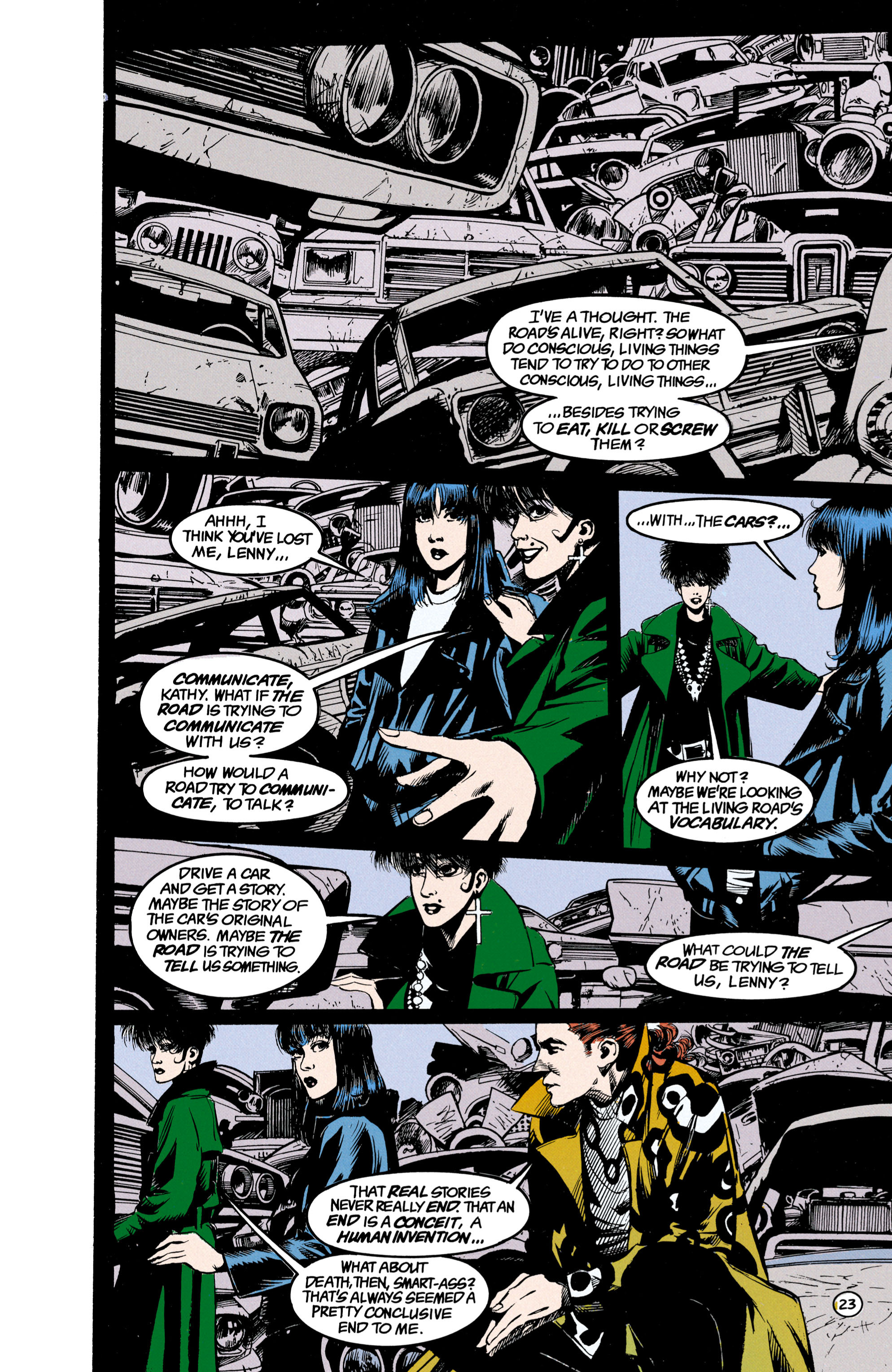 Read online Shade, the Changing Man comic -  Issue #23 - 24