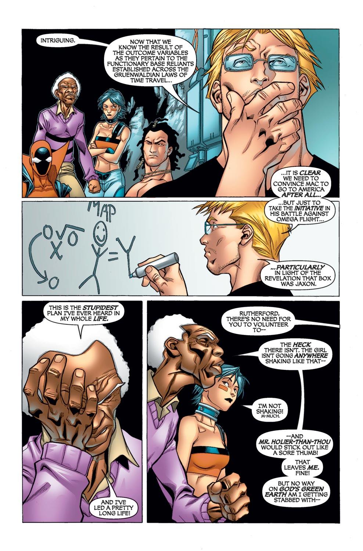 Read online Alpha Flight (2004) comic -  Issue #10 - 10