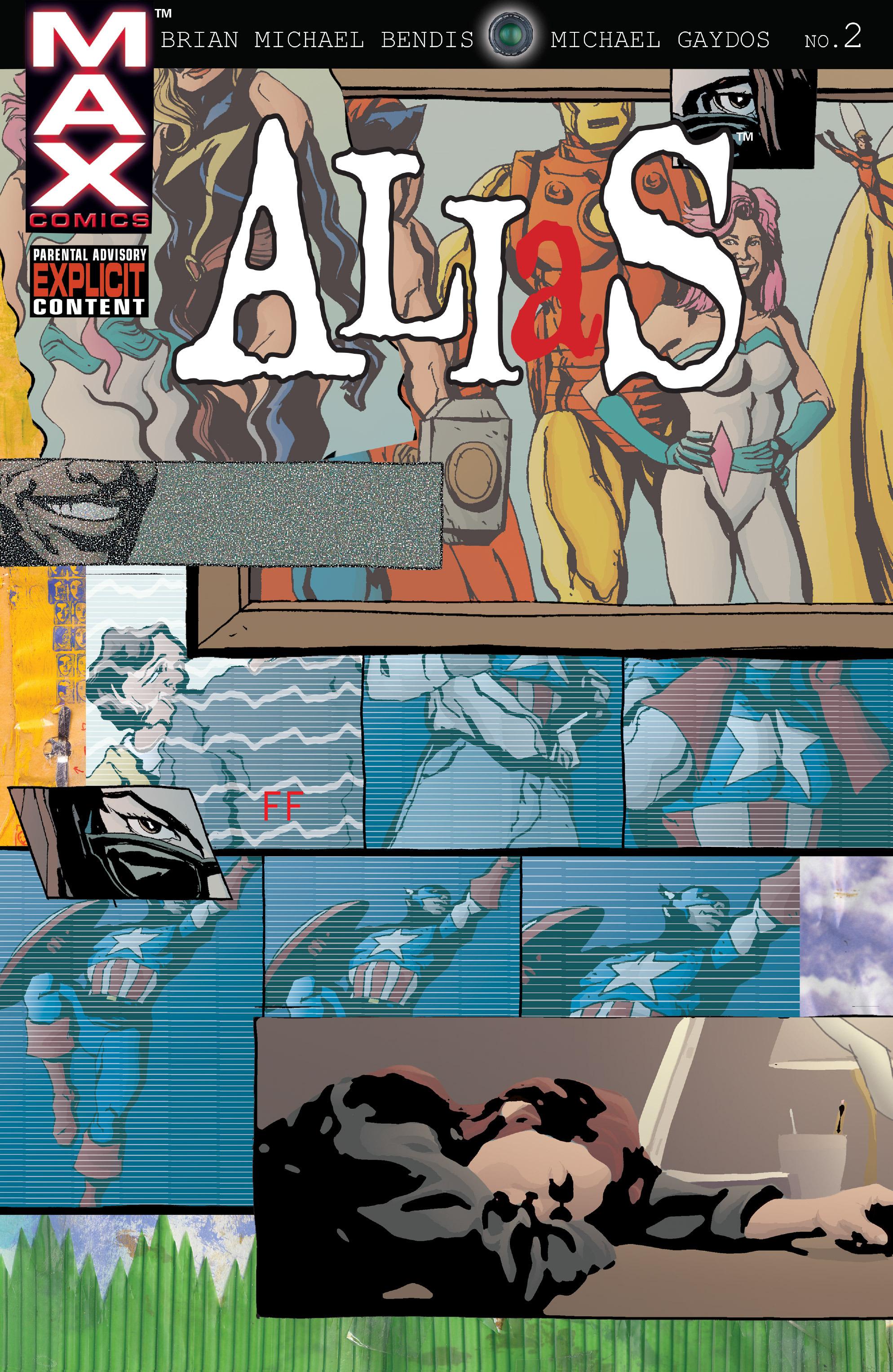 Read online Alias comic -  Issue #2 - 1