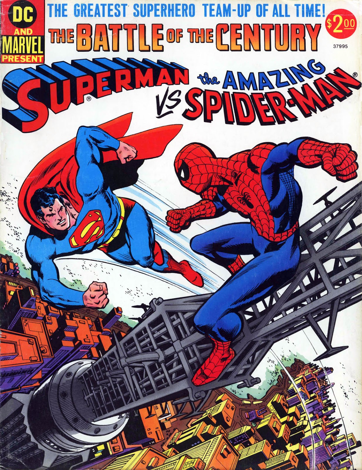Superman vs. The Amazing Spider-Man (1976) issue Full - Page 1
