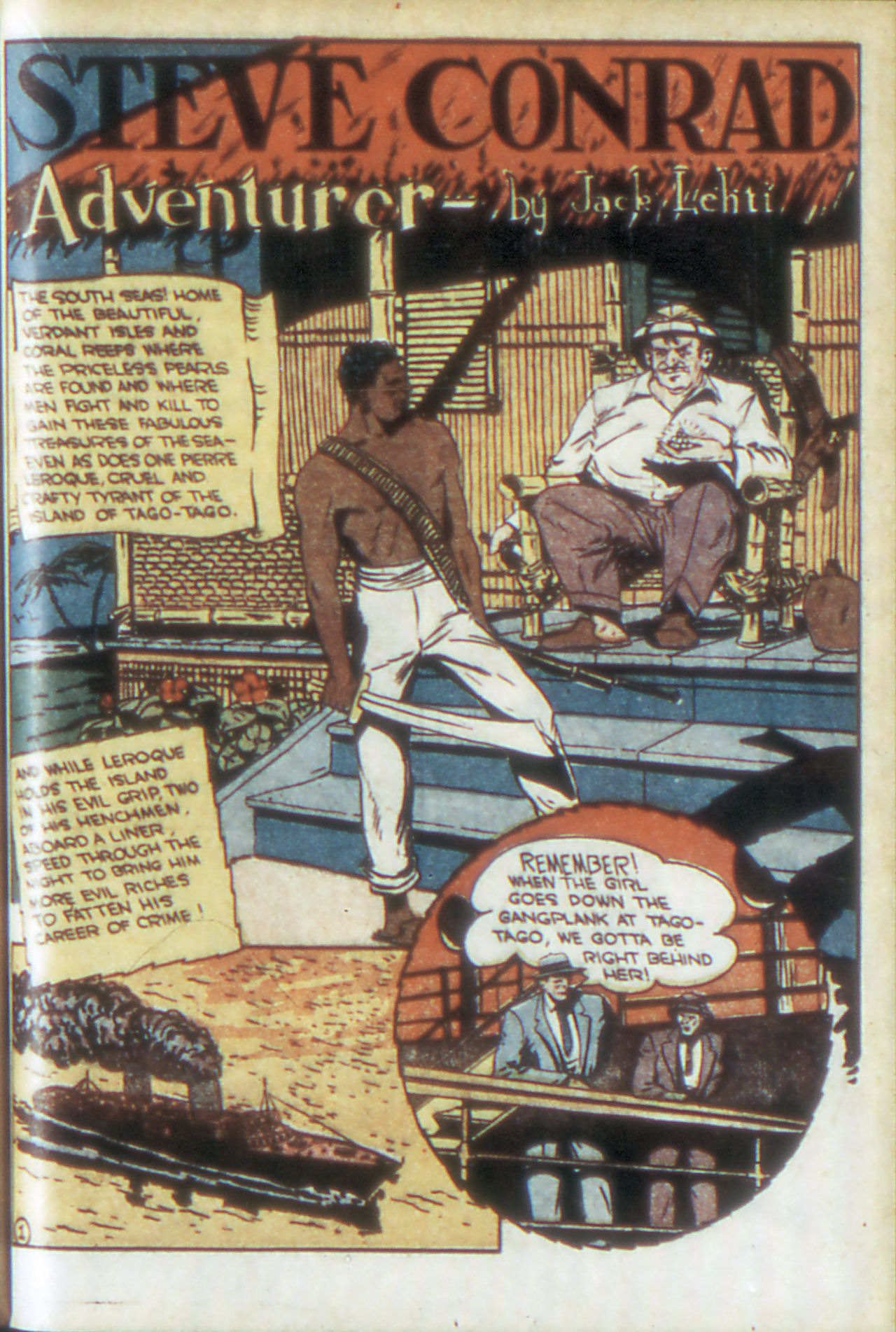 Read online Adventure Comics (1938) comic -  Issue #68 - 40