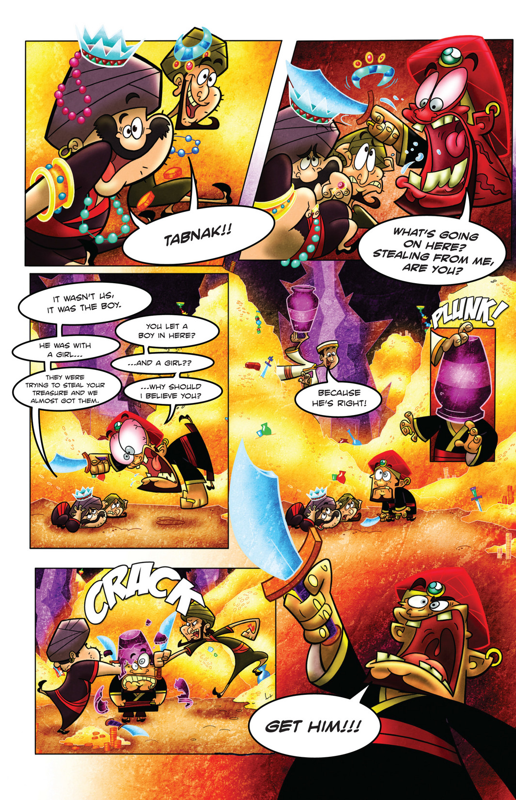 Read online 1001 Nights comic -  Issue #4 - 19