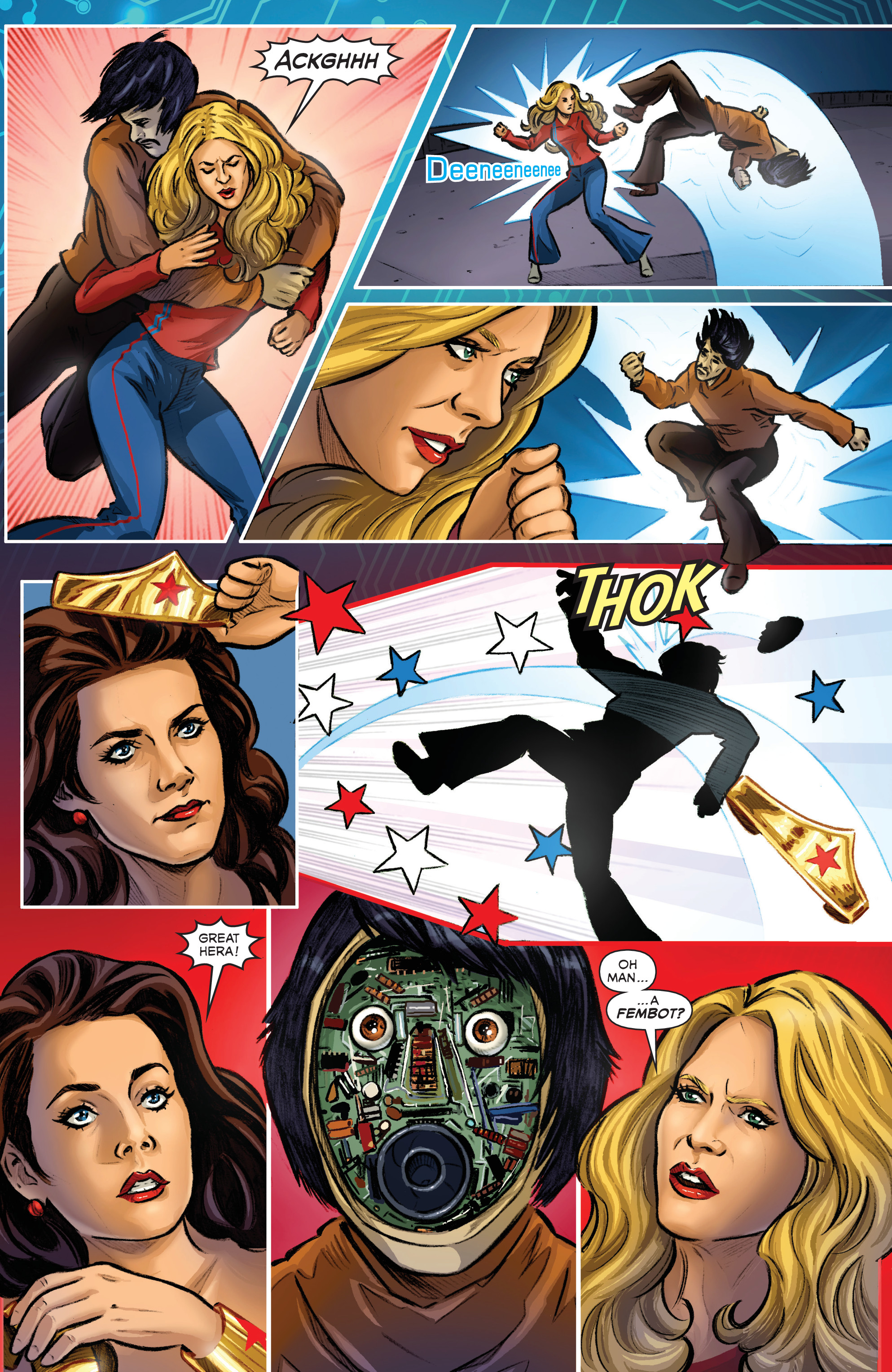 Read online Wonder Woman '77 Meets The Bionic Woman comic -  Issue #3 - 16