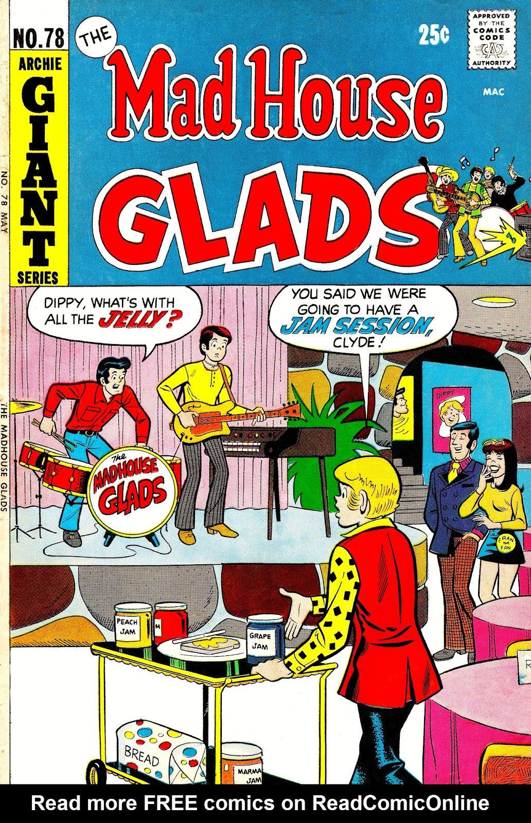Read online The Mad House Glads comic -  Issue #78 - 1